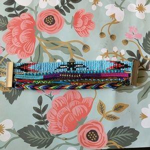 Nwot friendship bracelet beaded bracelet festival